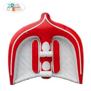 น้ำ Towable ปลา Inflatable Flying Manta Ray