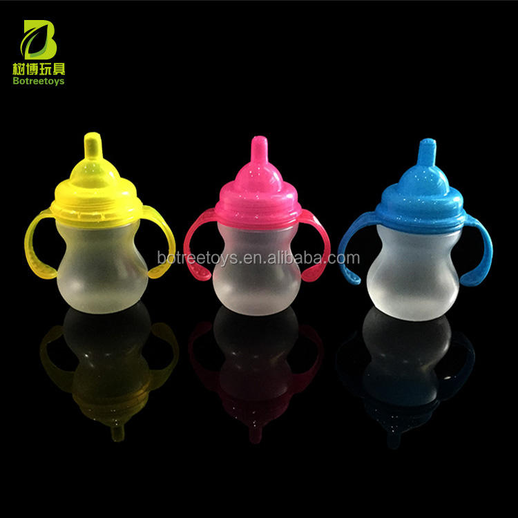 Empty Translucent Baby Nursing Bottle Candy Packaging Toys Plastic Storage