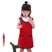 High quality, children's art apron painting baking apron