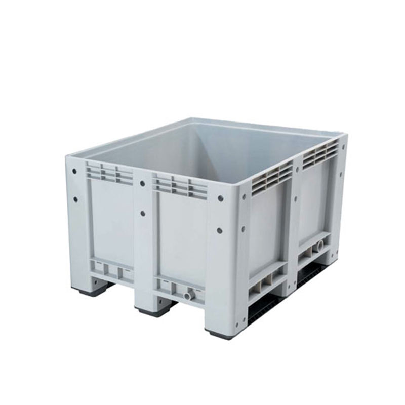 1200x1000x760mm non-vented pallets tubs box with lid
