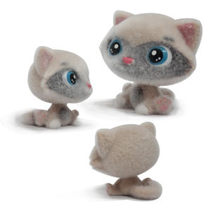 best seller plastic toys,New Design Kids Plastic 3d cat Toy