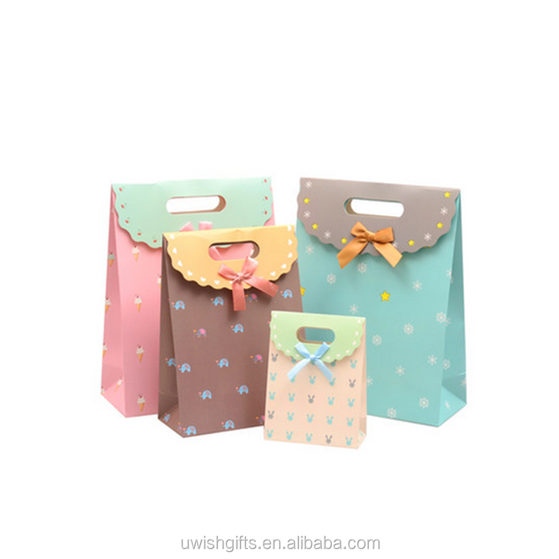 Wholesale india cheap price custom made small paper bags for gifts