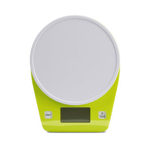 Home plastic/stainless steel platform digital mini kitchen food scale