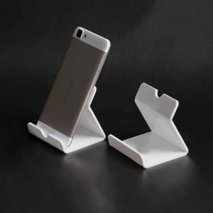 Acrylic Mobile Phone Holder With Price Tag Slot