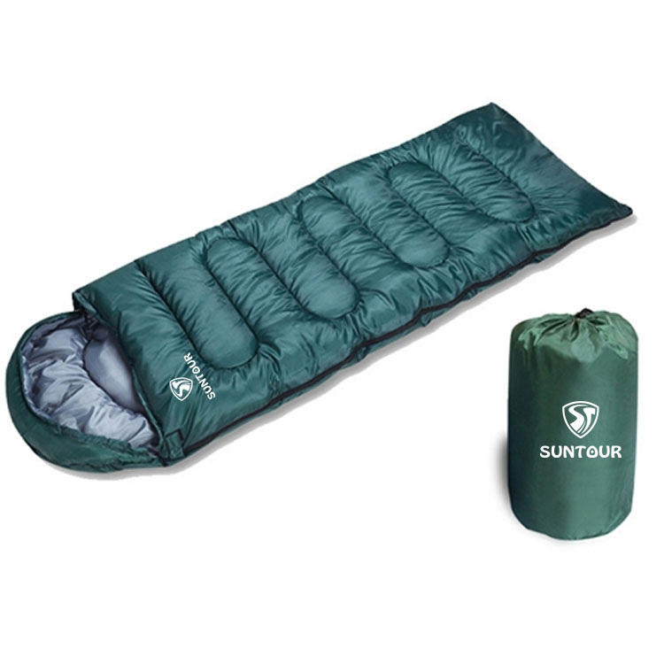 Manufacturer Camping Hiking Travel Ripstop Compact Lightweight Hollow Cotton Filling Mummy Sleeping Bag,