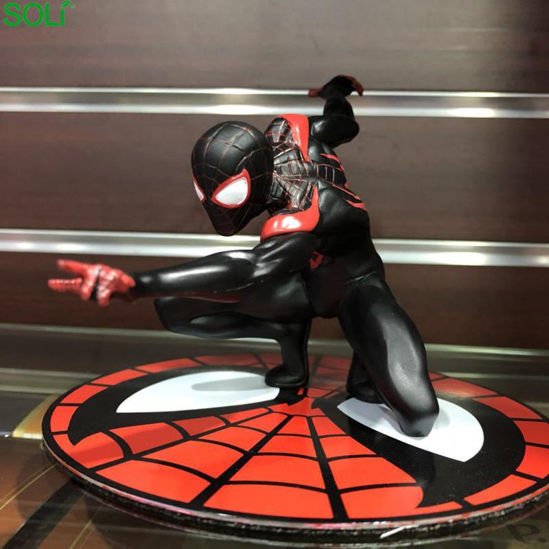 Ultimate spider-man millas araña de juguete de marvel figura de hombre araña figura
