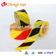 double color road traffic pe barricade warning tape