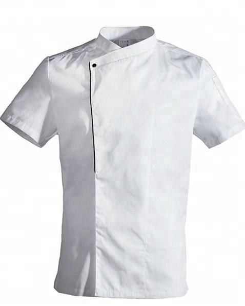 Newly designed chef clothing fashion unisex chef uniforms chef jacket for kitchens and restaurants