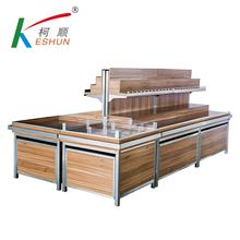Supermarket equipment racks fruit stand vegetable display Gondola rack for fruit vegetable racks