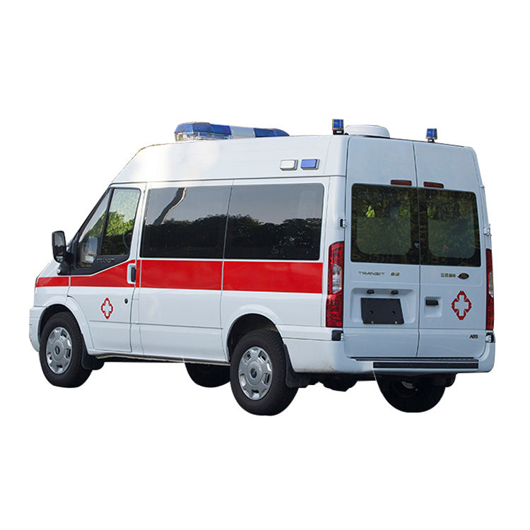 China Opkomst Voertuig 4*2 Ambulance 6 passenger factory supply