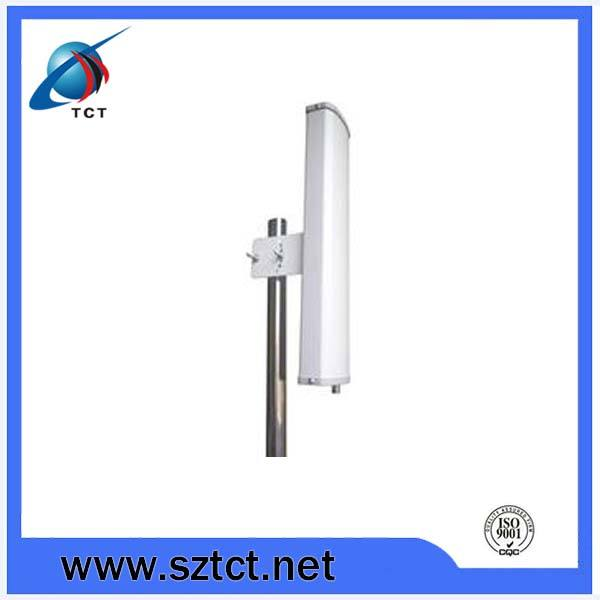 5.7-5.8GHz 16dB 120 degree Sector antenna