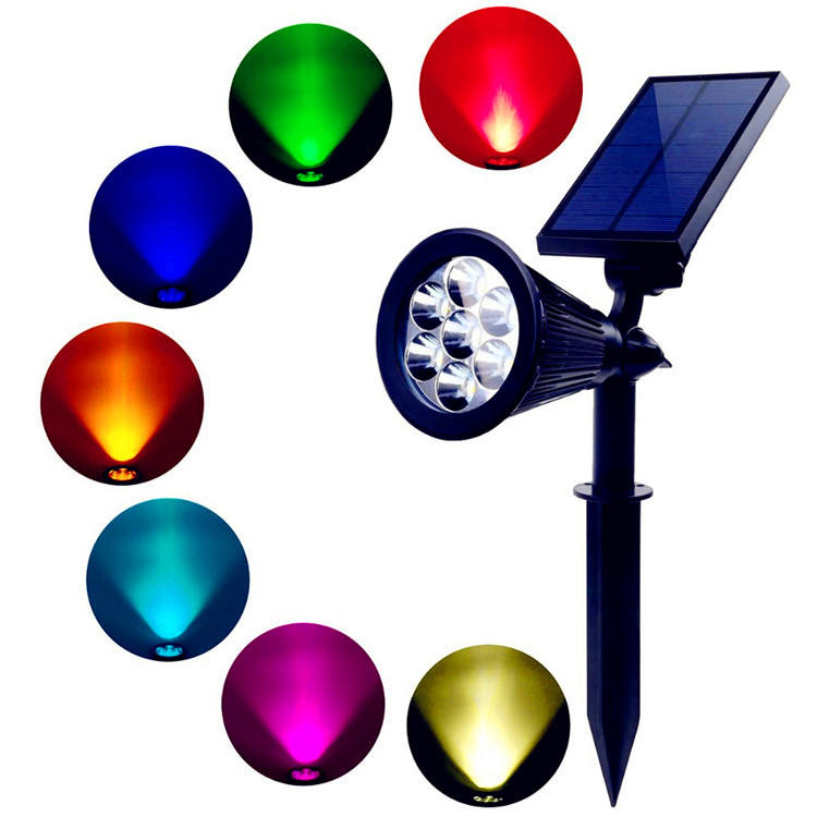 Upgrade LED Lawn lighting powerful high quality colour changing outdoor decorative bright led solar garden lights