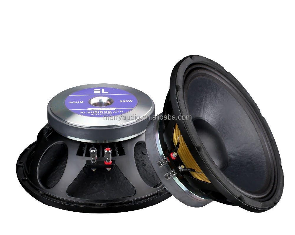 12 inch EL speaker dj sound system dj music indoor outdoor bass speaker