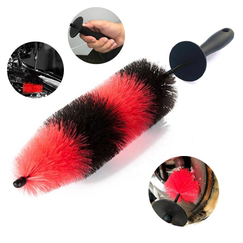 Master Wheel Brush of Easy Reach Wheel and Detailing Brush