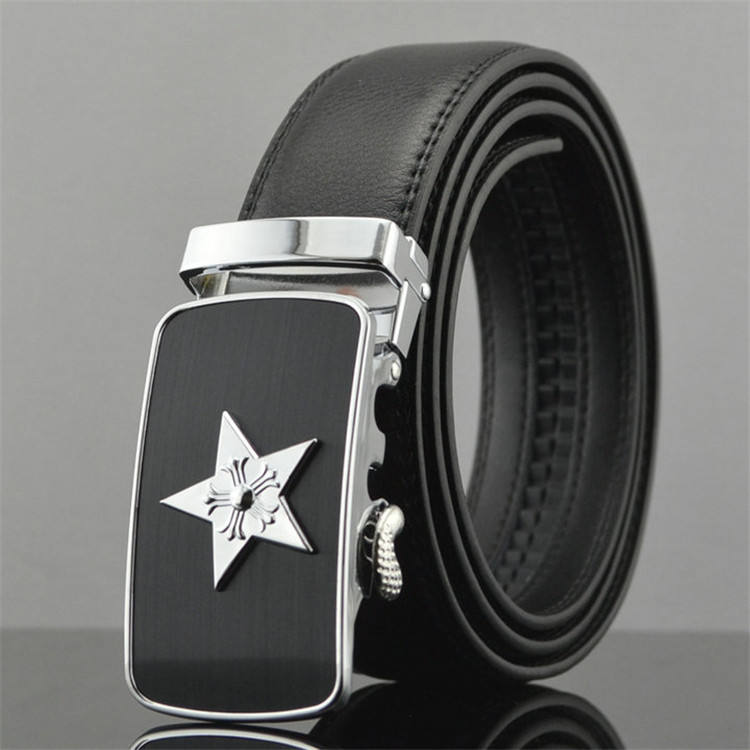Custom Genuine Leather Material Making Real Leather Belt Parts