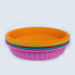 Food grade high temperature silicone cake mold