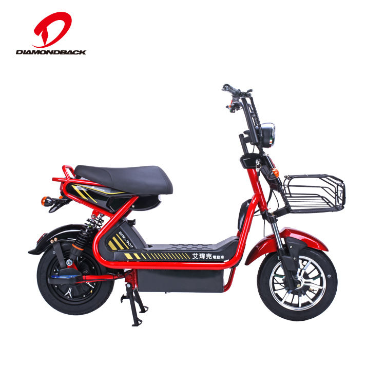 Light Electric Bike With High Carbon Steel Frame