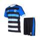 Free Size Customized Sublimation Logo Polyester Football Jerseys Team Uniforms Full Set