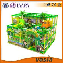Play set kids plastic tube slide indoor playground for supermarket and KFC
