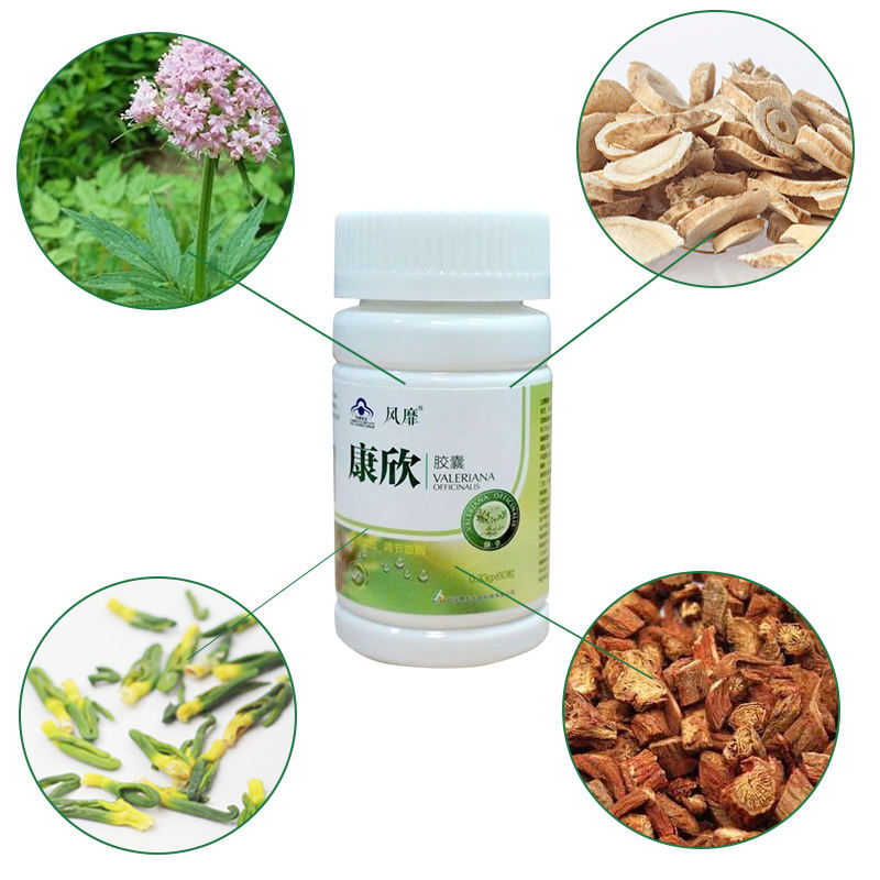 Chinese Herbal Blood Vessel Capsule For High Blood Pressure