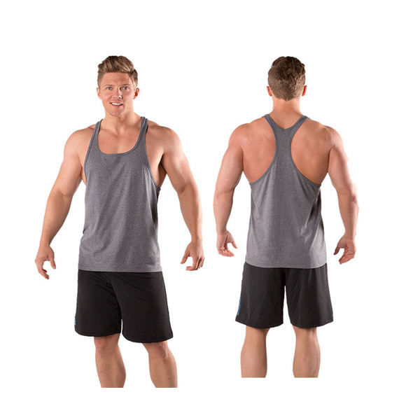 Sublimation high quality mens stinger singlet,wholesale custom stringer gym tank top