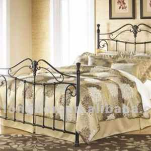 Top -selling ancient king size iron beds frame