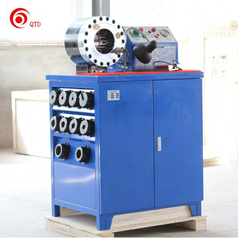Competitive high technology high press wire rope swaging hydraulic hose crimping machine for sale