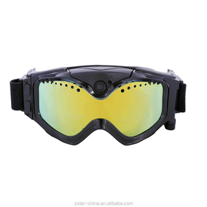 Colorful double anti-fog Lens HD 720P Camera Skiing Goggles