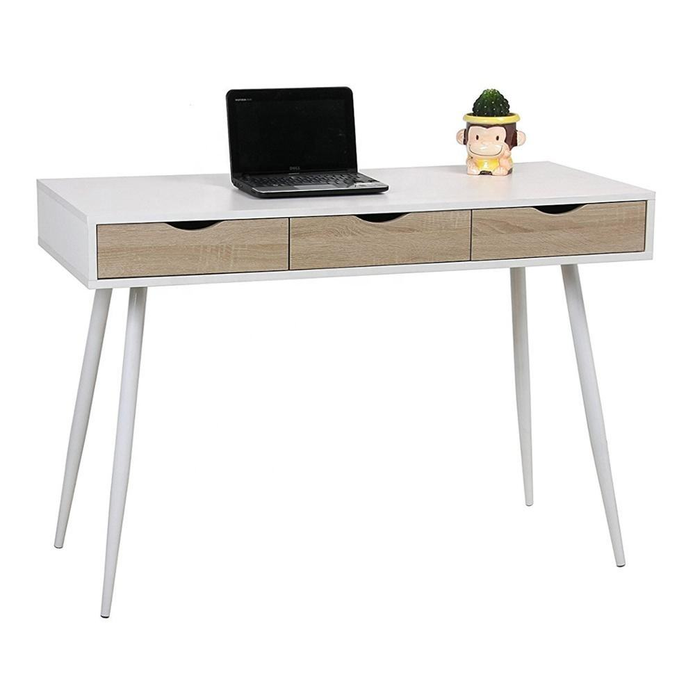 Factory Cheap Cost White Color Modern Computer Desk/Computer Table/Desktop computer