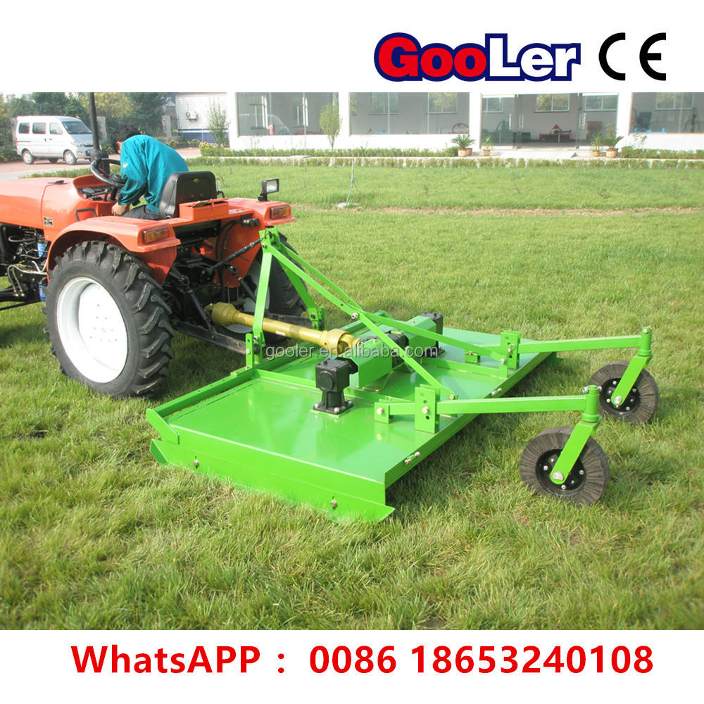 Heavy duty topper grass mower slasher