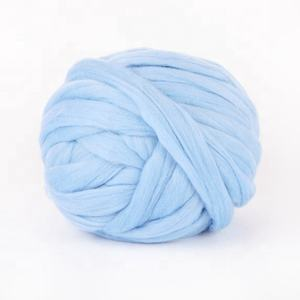 100% wool yarn knitting wool super chunky merino wool giant thick yarn