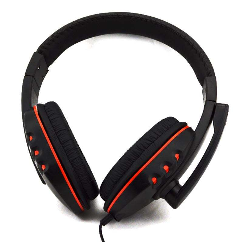 Hot Selling Stereo Wired Headphone For Ps4 Headset With Microphone