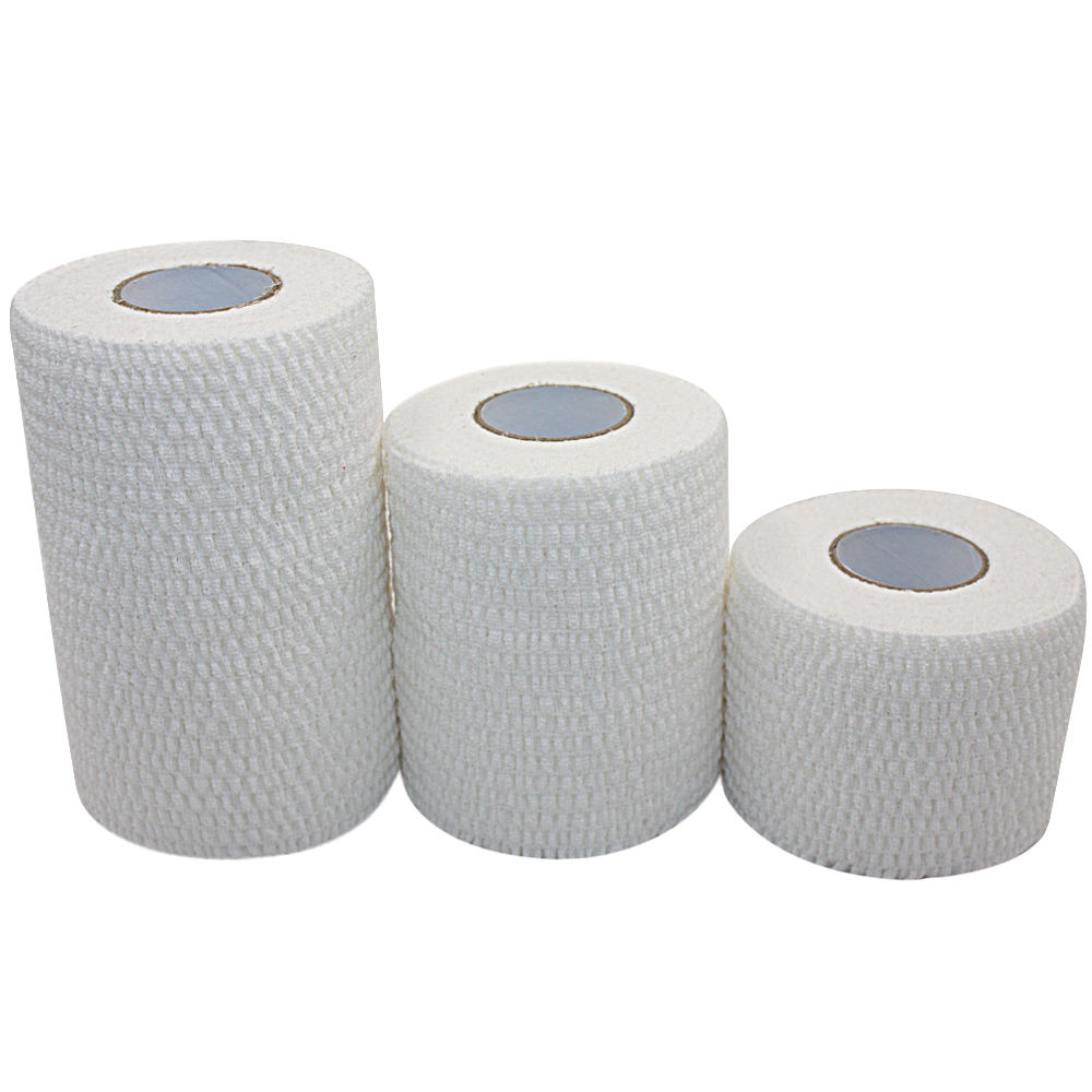 High Quality Sport Elastic Cotton Tear Able Stretch White Eab Thumb Tape