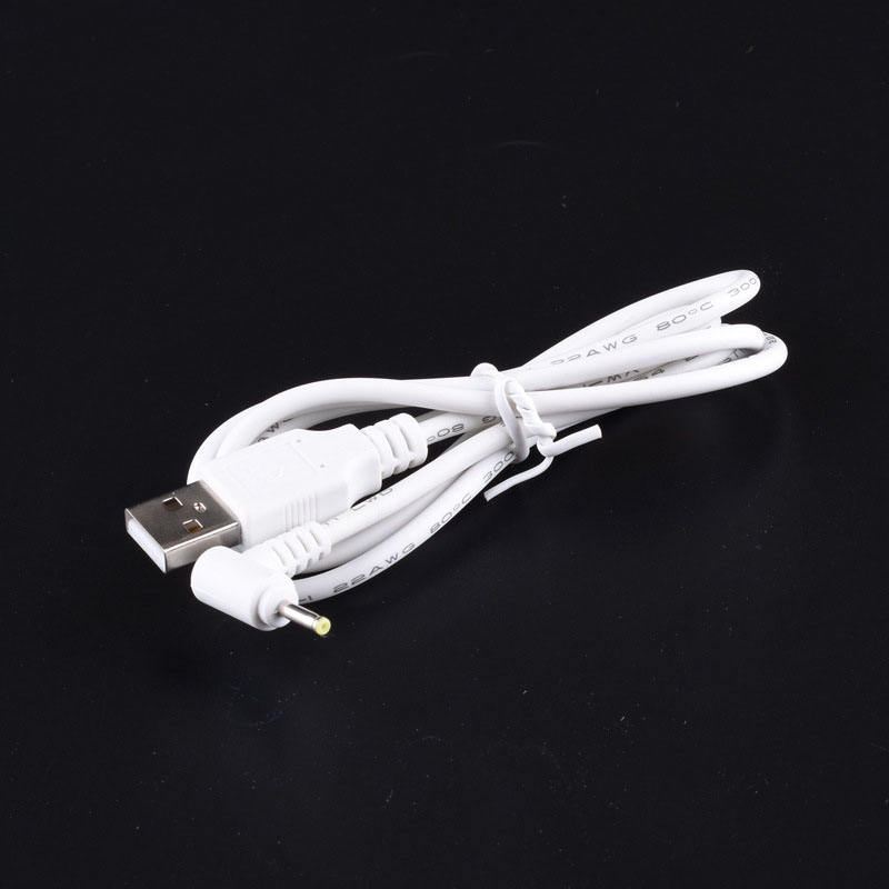 USB 2.0 A male to DC size 2.5 mm * 0.7 mm L shape dc power charging cable cord wire 1m usb cable
