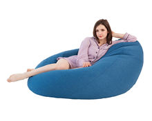 outdoor and indoor cotton knitted bean bag chairs wholesale for kids adult
