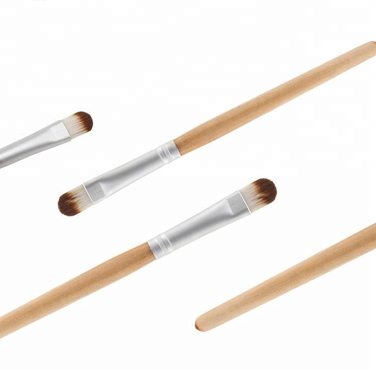 Eco-friendly Bamboo Cruelty-Free Synthetic Basic Makeup Eyeshadow Concealer Brush