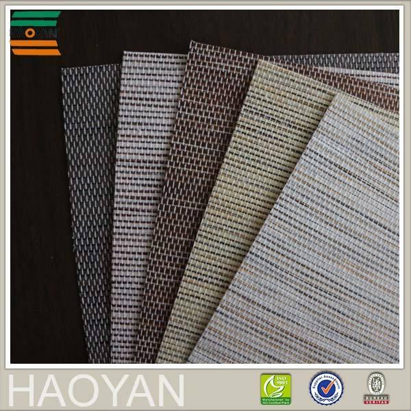 <span class=keywords><strong>Haoyan</strong></span> горячая распродажа печатных солнцезащитный крем тканые засучить слепой ткань