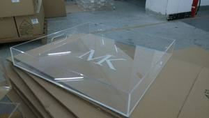 custom clear lucite tray
