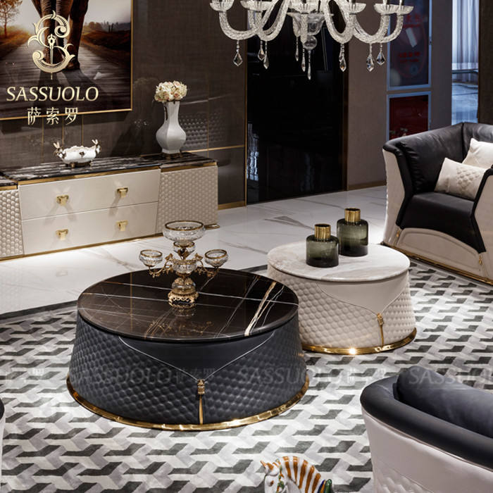 Sassuolo 2019 China best selling fashional design good quality italian modern marble coffee table