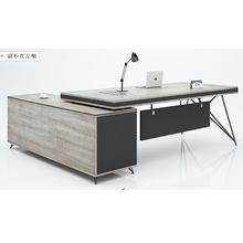 Latest design wooden modern cheap executive manager desk office