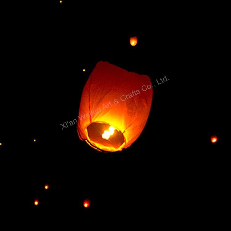 100% eco-friendly paper lanterns that fly