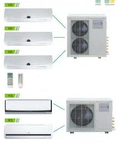Europe ERP3.8/Class A+ Multi-split air conditioner