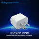 AU White Plug 5V 1A 1000MA USB Wall Charger Adapter for Samsung IPhone HTC Nokia Ipad with SAA C-tick Mark LX050100