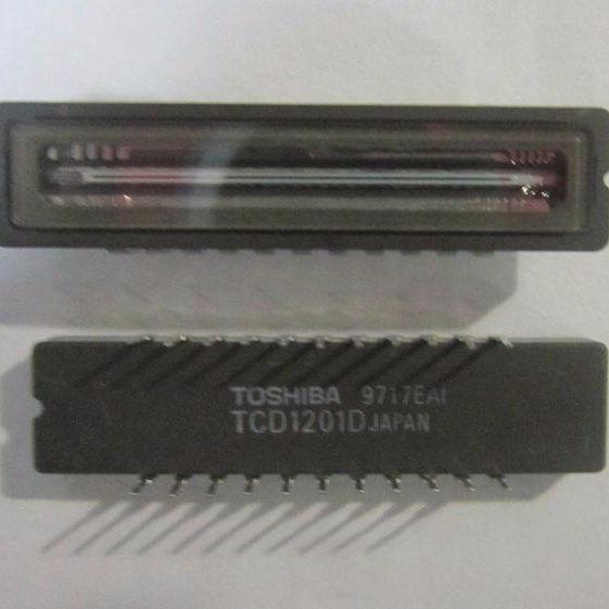 Circuito integrado TCD1201D de Toshiba-Japón