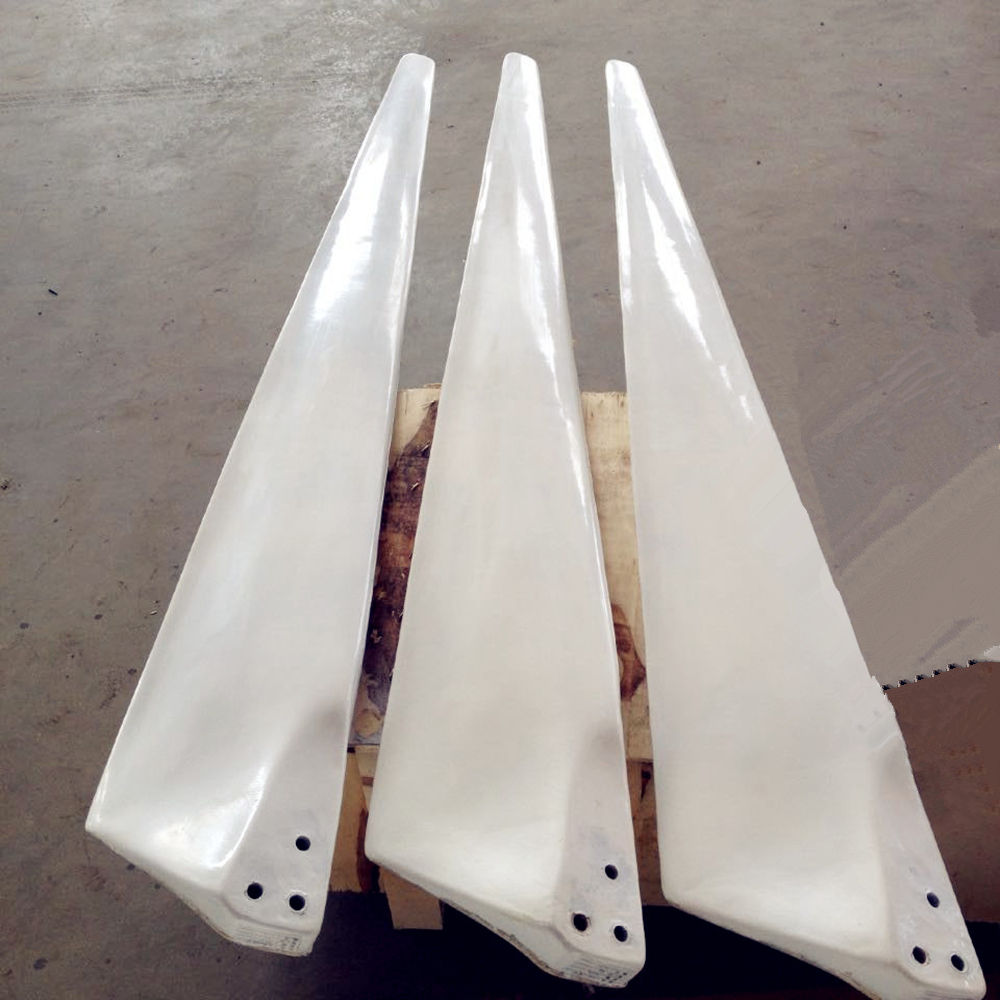 HLD FRB wind generator blades 1.54m 1.6m 1.9m for 2kw wind turbine