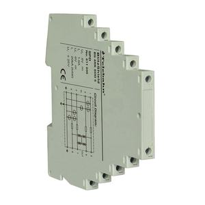 5 V DIN Rail gray 7mm small size shielded (high) 저 (방전 용량 signal 5 v 24 v 48 v 폰 서지 보호 20ka