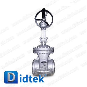 Didtek High quality ANSI flanged 12'' 300LB a217 wc6 gate valve