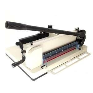 858A3 Heavy duty manual paper guillotine paper cutter machine