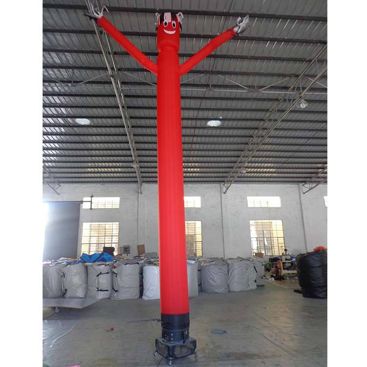 Double Legs Inflatable Air Tube Man For Advertising