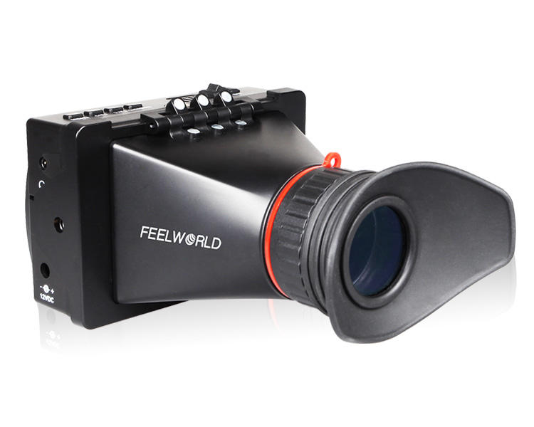 "Viewfinder 3.5"" LCD Monitor SDI HDMI Input Pixel-to-Pixel High Contrast 800:1 Electronic Viewfinder For HDSLR Cameras"